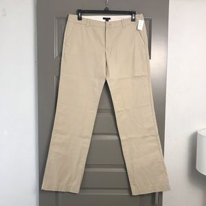 Gap Khaki Chino Pants 12 Extra Long Length
